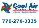 Website for Cool Air Heating & Cooling, LLC