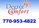 Website for Degree of Comfort, Inc.