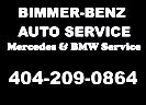 Website for Bimmer-Benz Auto Service