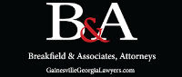 Website for Breakfield & Associates, Attorneys