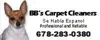 Website for BB's Carpet Cleaners, Inc.
