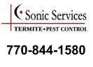 Website for Sonic Services Termite & Pest Control