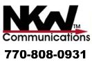 Website for N K W Communications Inc.