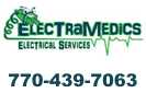 Website for ElectraMedics Electrical Services