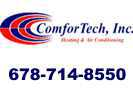 Website for ComforTech, Inc. Heating & Air Conditioning