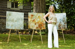 Melissa Payne Baker, Atlanta Artist, featured in our North Atlanta Office