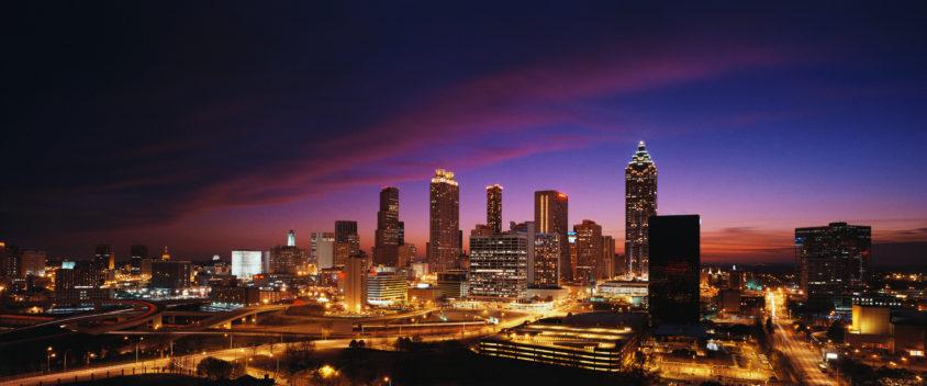 Atlanta Skyline at Twilight