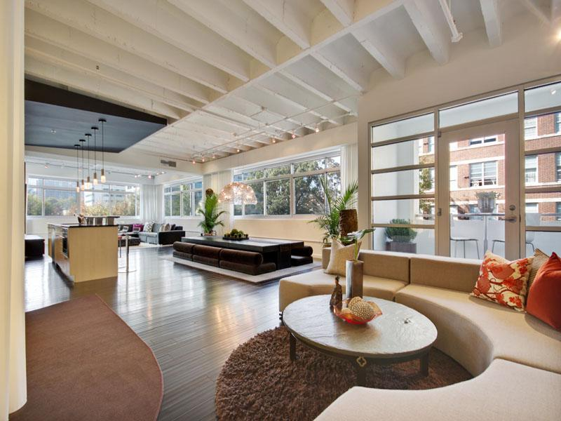 Open Foyer Loft : Featured home designer loft in midtown
