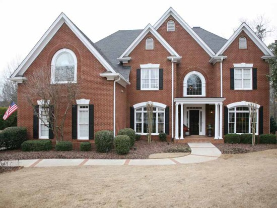 Classic Southern Colonial Sophistication in Johns Creek Previously