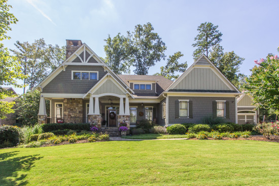 Kennesaw craftsman style in overlook at marietta country for Atlanta craftsman homes