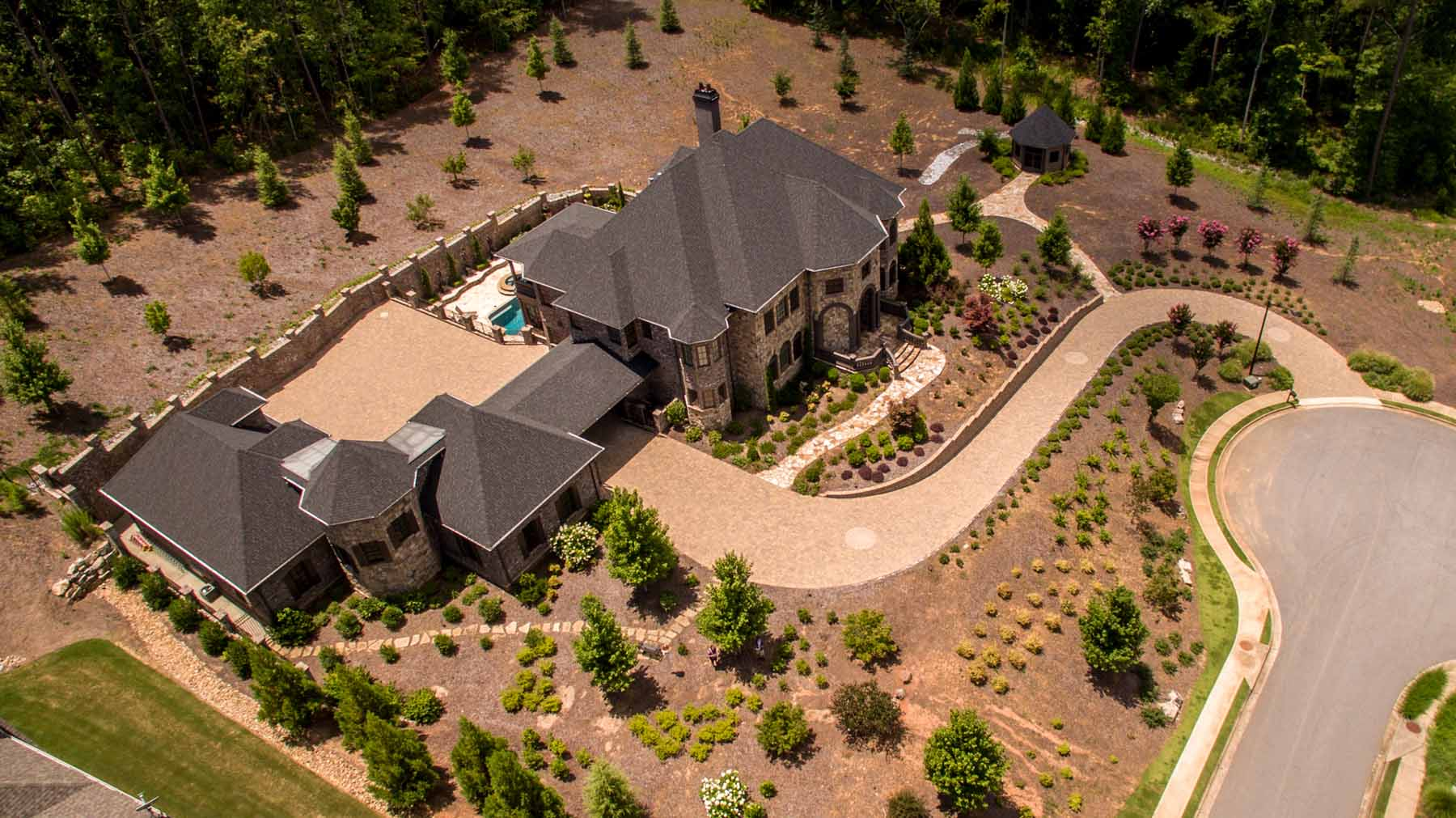 architectural masterpiece on 3 acres in woodstock previously listed
