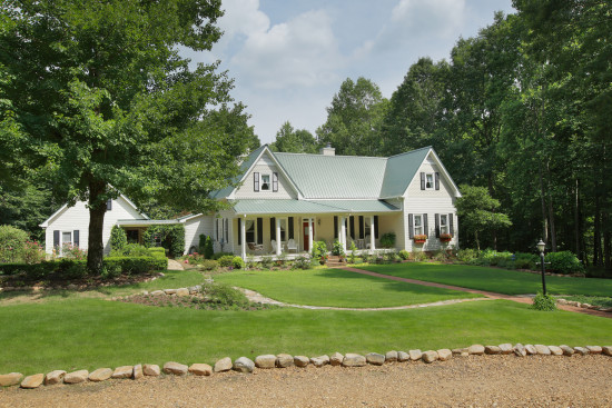 Captivating country home in canton georgia previously for Custom home builders canton ga