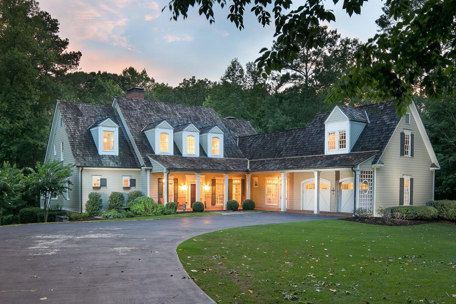 The epitome of southern living a fantastic milton cape for Southern living cape cod house plans