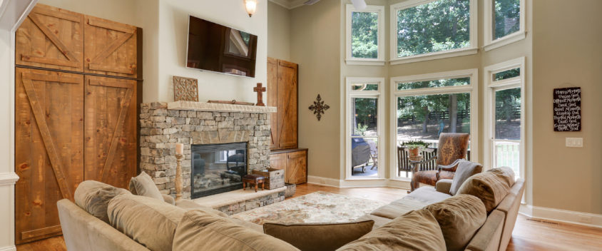 Two Story Family Room Canton