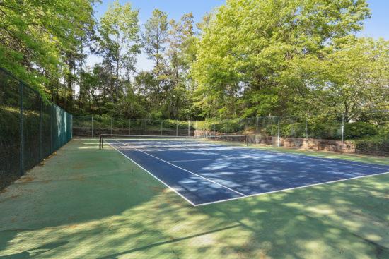 Community Tennis Court Sandy Springs
