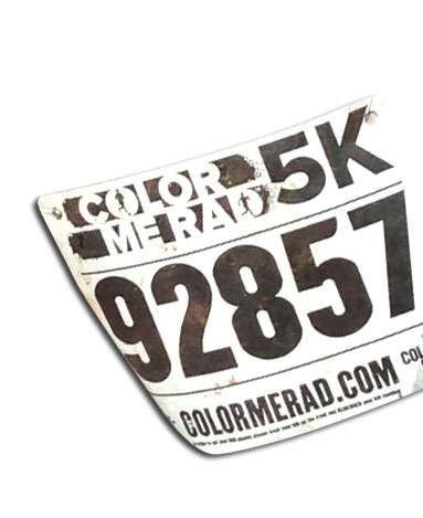 5k run race atlantic packaging fitbit challenge