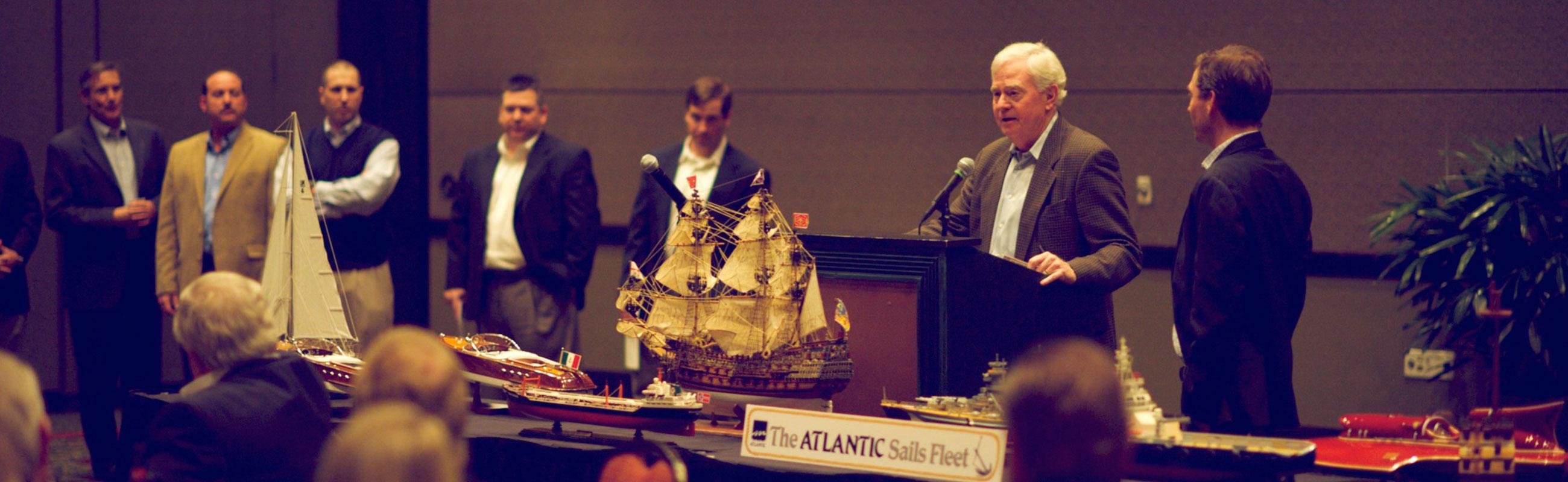 Atlantic sails fleet 2014 sales meeting