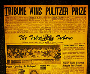 Tribune wins pulitzer