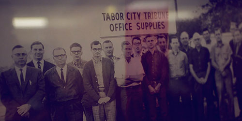Tabor city tribune office supplies