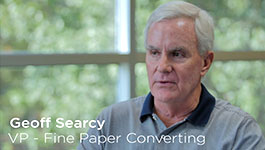 Paper converting