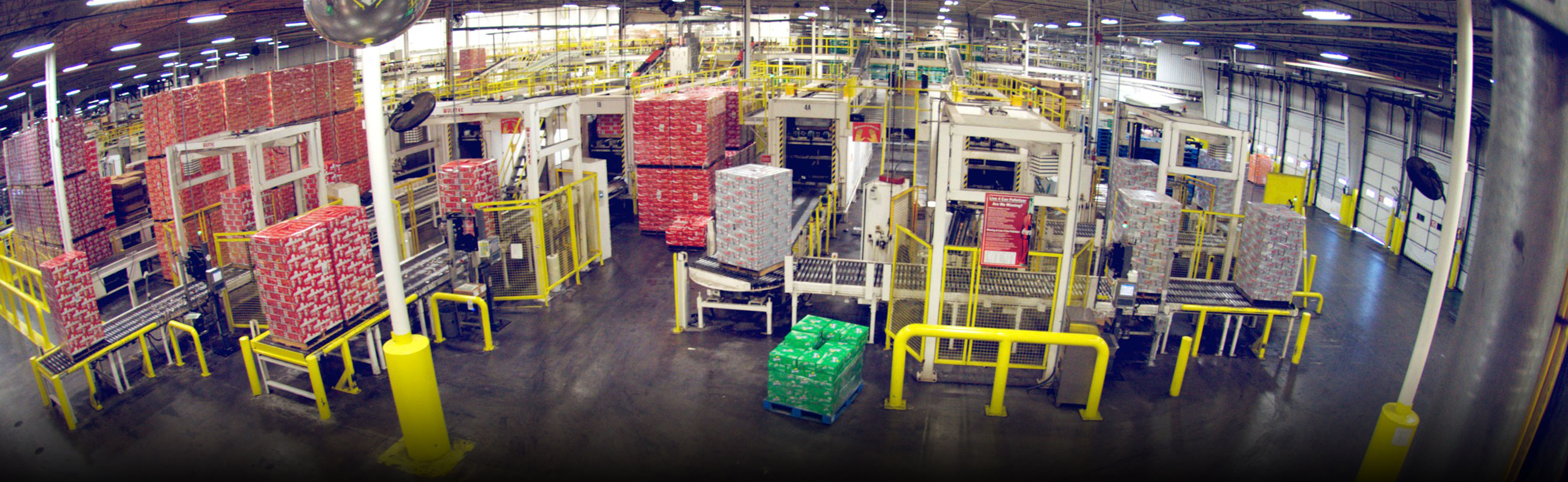 Beverage industry stretch wrap solution