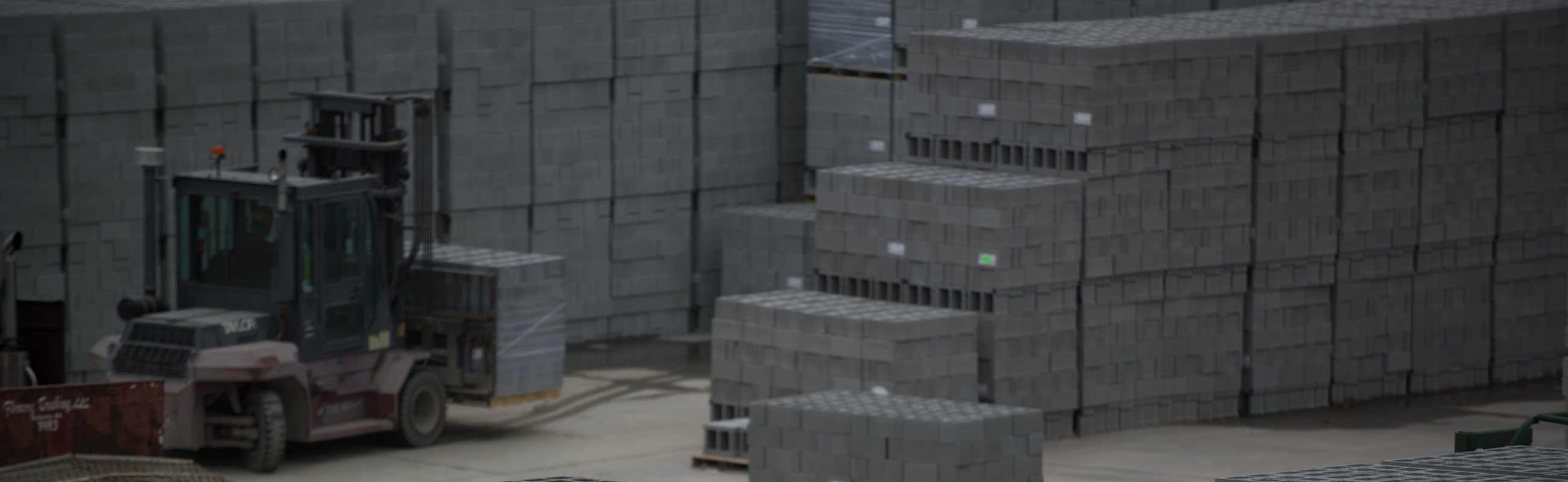 Building products forklift brick blocks