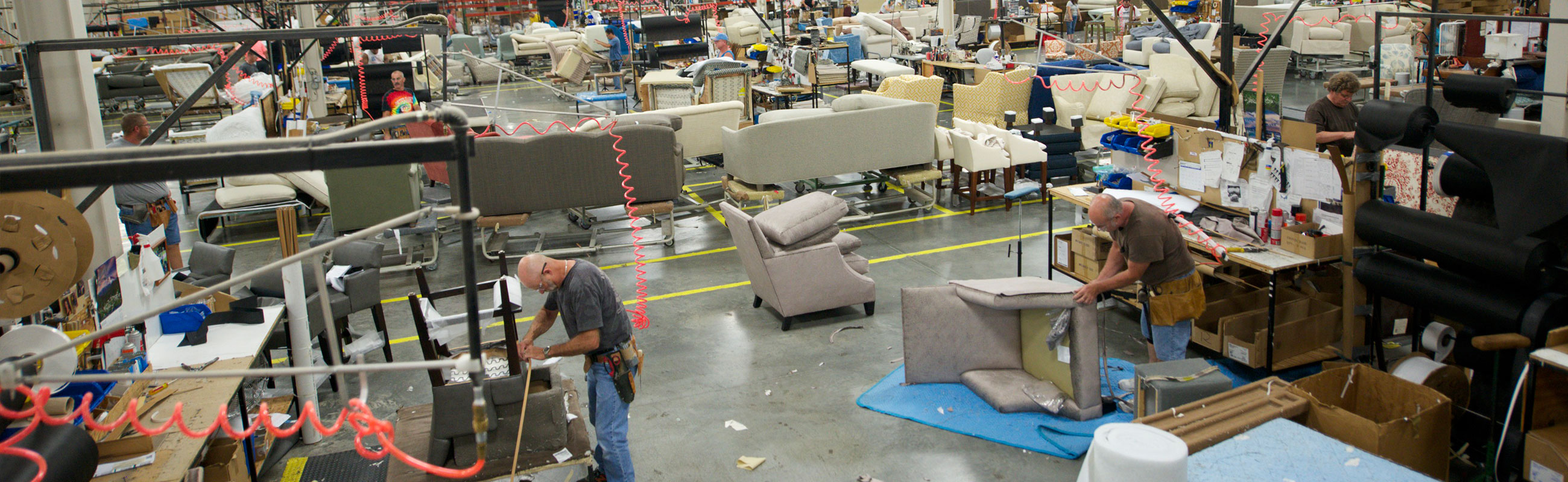 Furniture building upholstery
