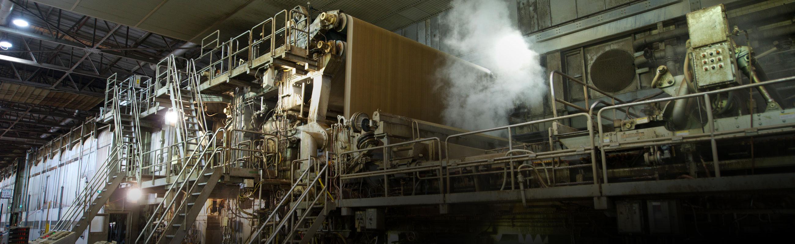 Paper machine front pulp