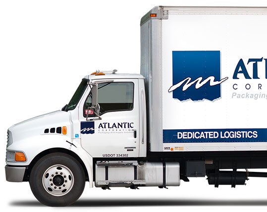 Small atlantic delivery truck