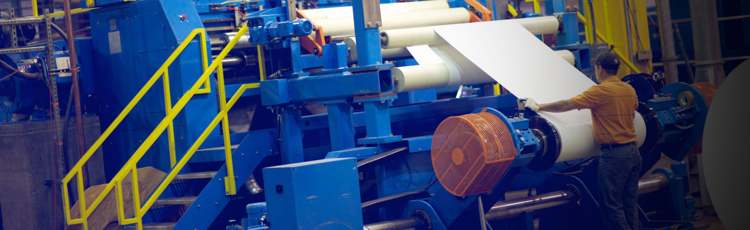 Paper converting sheeting sbs