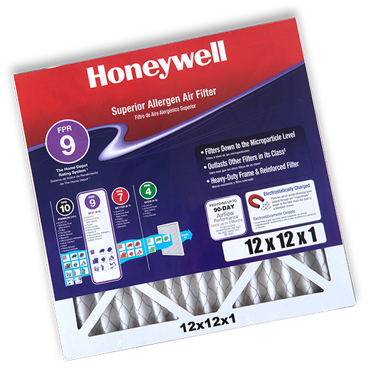 Honeywell air filter printed insert