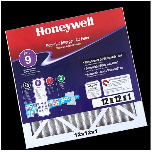 Honeywell air filter printed insert