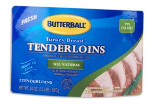 Butterball label