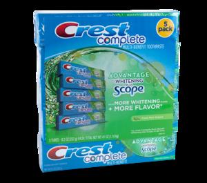 Crest contract packaging bundle label