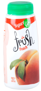 Frush peach shrink sleeve