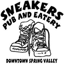 Large sneakers logo