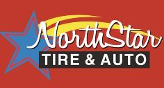 Large north star tire   auto logo