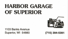 Large harbor garage of superior