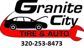 Large granite city tire