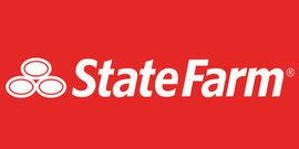 Large state farm logo