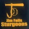Large jim falls sturgeons