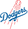 Large los angeles dodgers logo