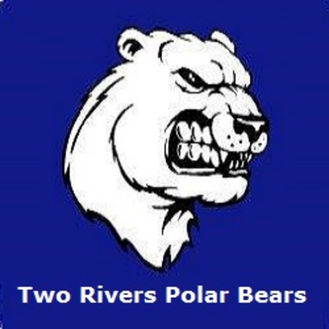 Original extra large two rivers polar bears