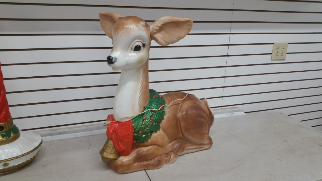 Poloron Lighted Fawn
