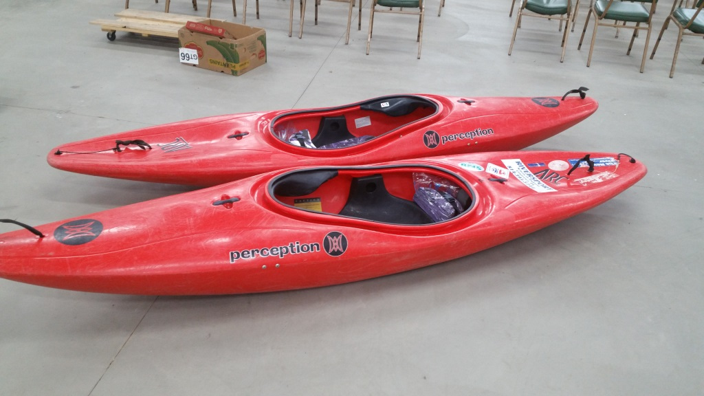 Perception ARC Kayaks