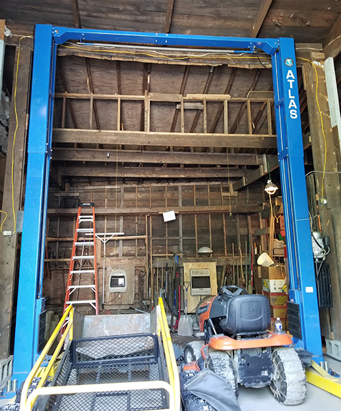 Atlas PV-15P Two Post Lift