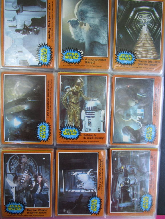 1970s Star Wars Cards