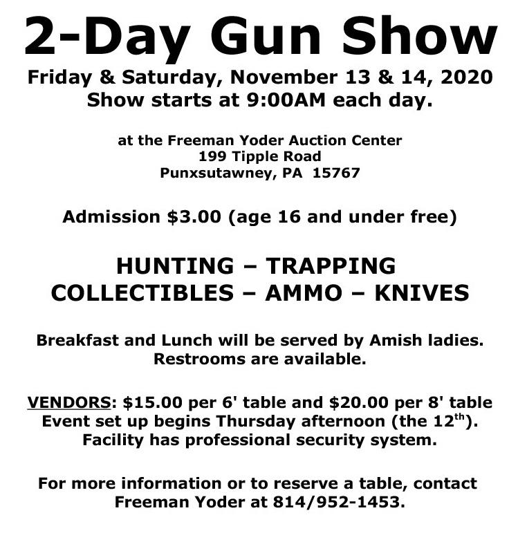 Gun Show Flyer Image