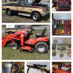 Pickup Truck, Nissan 240 SX Car, Lawn & Garden Tools, Firearms, Coins, Antiques & More