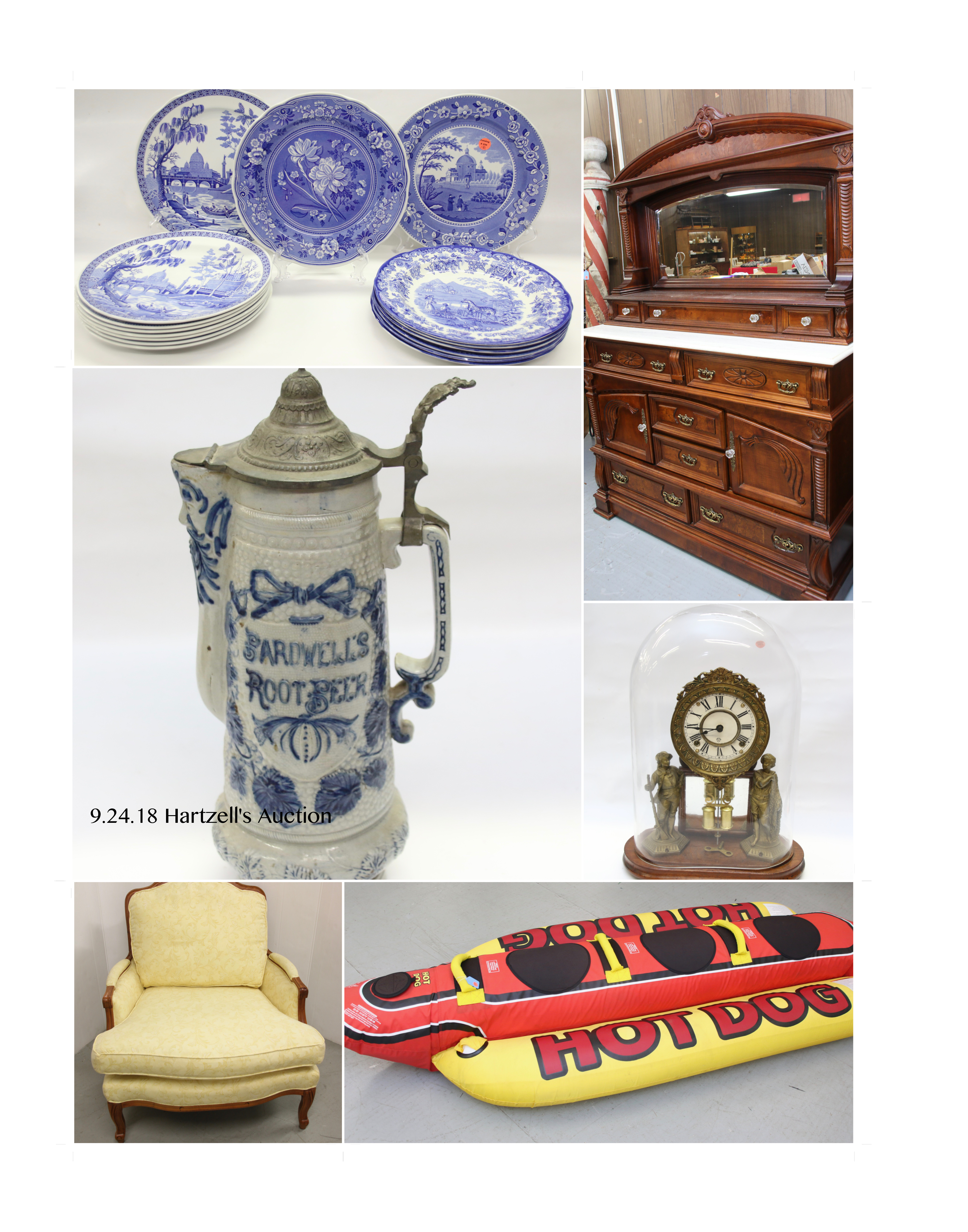 Antiques, Collectibles, Toys, Primitives,  Furniture,  & More